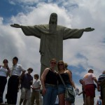 Chilling with the cristo in Rio