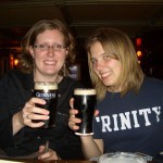 Drinking Guiness in Northern Ireland
